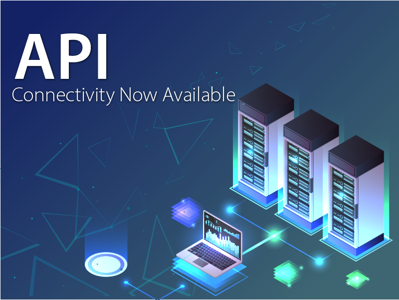 API Connectivity Available