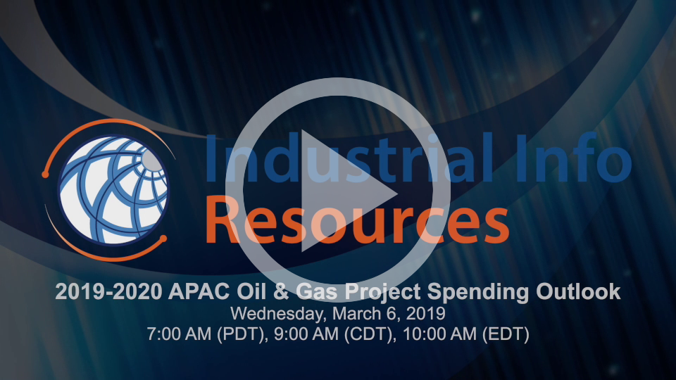 2019-2020 APAC Oil & Gas Project Spending Outlook